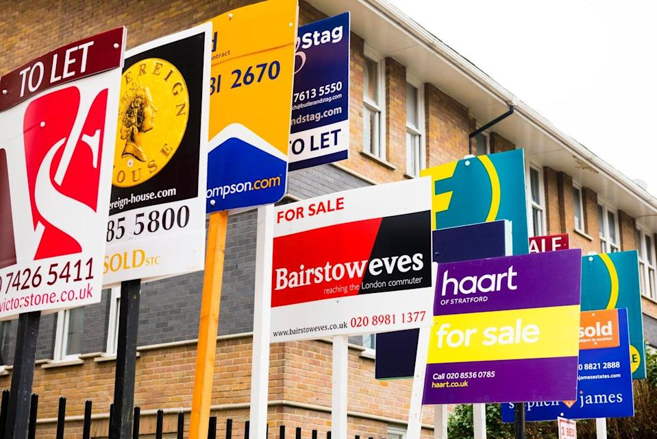 <p>House prices are booming despite the pandemic</p> (Getty Images)