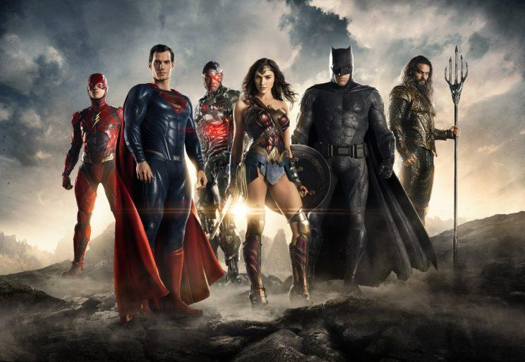 Justice League Gets Team Shot in UK Trailer