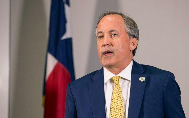 PHOTO: Texas Attorney General Ken Paxton speaks about a lawsuit he filed against the federal government to end DACA during a press conference in Austin, Texas, May 1, 2018. (Nick Wagner/AP, FILE)