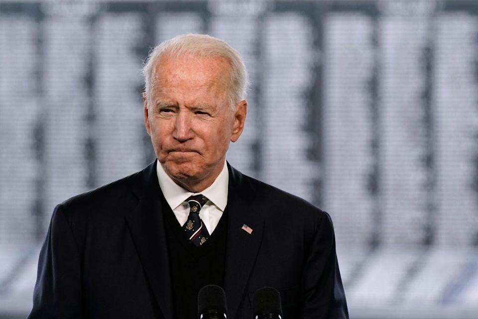 <p>Biden</p> (Copyright 2021 The Associated Press. All rights reserved.)