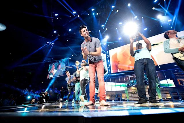 <p>Jake Owen performs at the 2017 iHeartCountry Festival, A Music Experience by AT&T at The Frank Erwin Center on May 6, 2017 in Austin, Texas.(Photo: Todd Owyoung) </p>