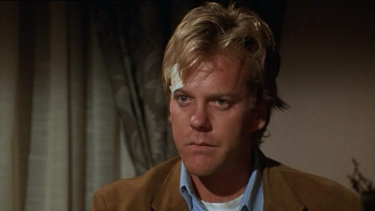 Kiefer Sutherland in 'Woman Wanted'. (Credit: Acteurs Auteurs Associés)