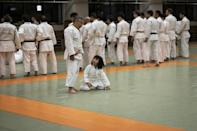 Judo is seen as a sport for all ages