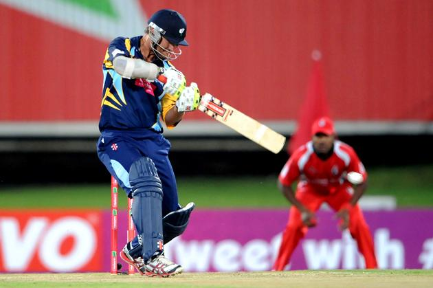 PRETORIA, SOUTH AFRICA - OCTOBER 10: Phil Jaques of Yorkshire during the Karbonn Smart CLT20 pre-tournament Qualifying Stage match between Yorkshire (England) and Trinidad and Tobago (West Indies) at SuperSport Park on October 10, 2012 in Pretoria, South Africa.  (Photo by Lee Warren / Gallo Images / Getty Images)