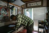 Tattoo artist Ichi Hatano believes the creative process from ink on skin to digital art is similar, with five of his pieces up for sale at the CrypTokyo exhibition