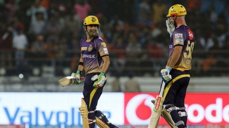 Lynn and Gambhir smashed the Gujarat bowlers all over the park