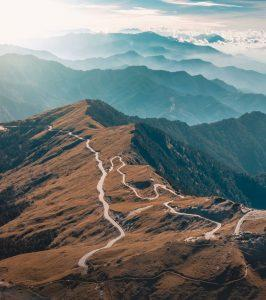 Wuling is a Mountain pass located in Ren'ai, Nantou, Taiwan. (Courtesy of Breckler Pierre)