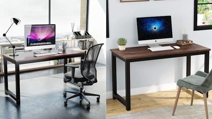 A large desk for a big workspace.