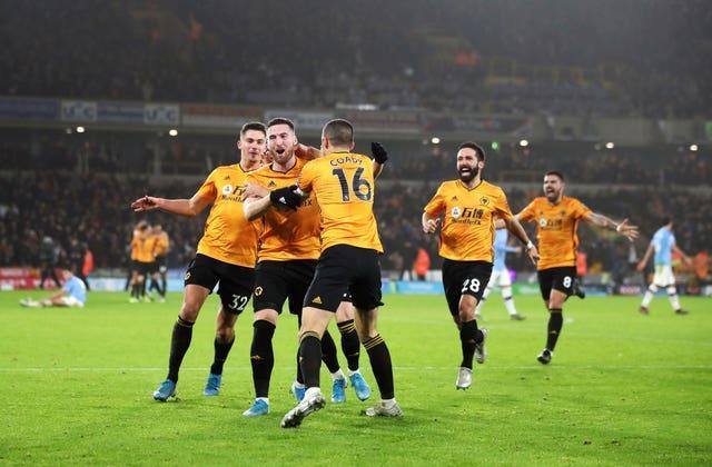 Wolves were a thorn in City's side last season