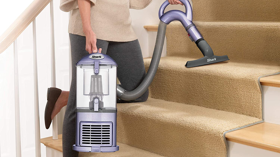 This Shark Navigator vacuum is very maneuverable and capable of handling floors, staircases and furniture.