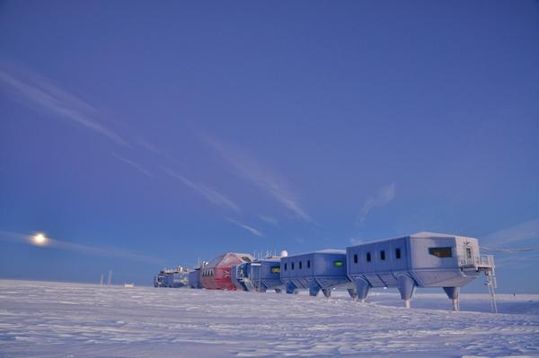 The Halley VI Research Station.