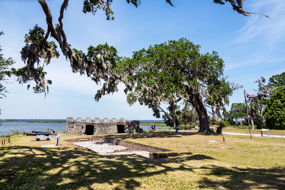 "<p>History buffs and beach lovers alike will love <a href=""https://www.tripadvisor.com/Tourism-g35241-Saint_Simons_Island_Golden_Isles_of_Georgia_Georgia-Vacations.html"" rel=""nofollow noopener"" target=""_blank"" data-ylk=""slk:this small island town"" class=""link rapid-noclick-resp"">this small island town</a> off the Georgia coast. There, you can golf, fish, and visit plenty of historical monuments, and you can't miss climbing to the top of the St. Simons lighthouse to see the view of the entire island. </p>"