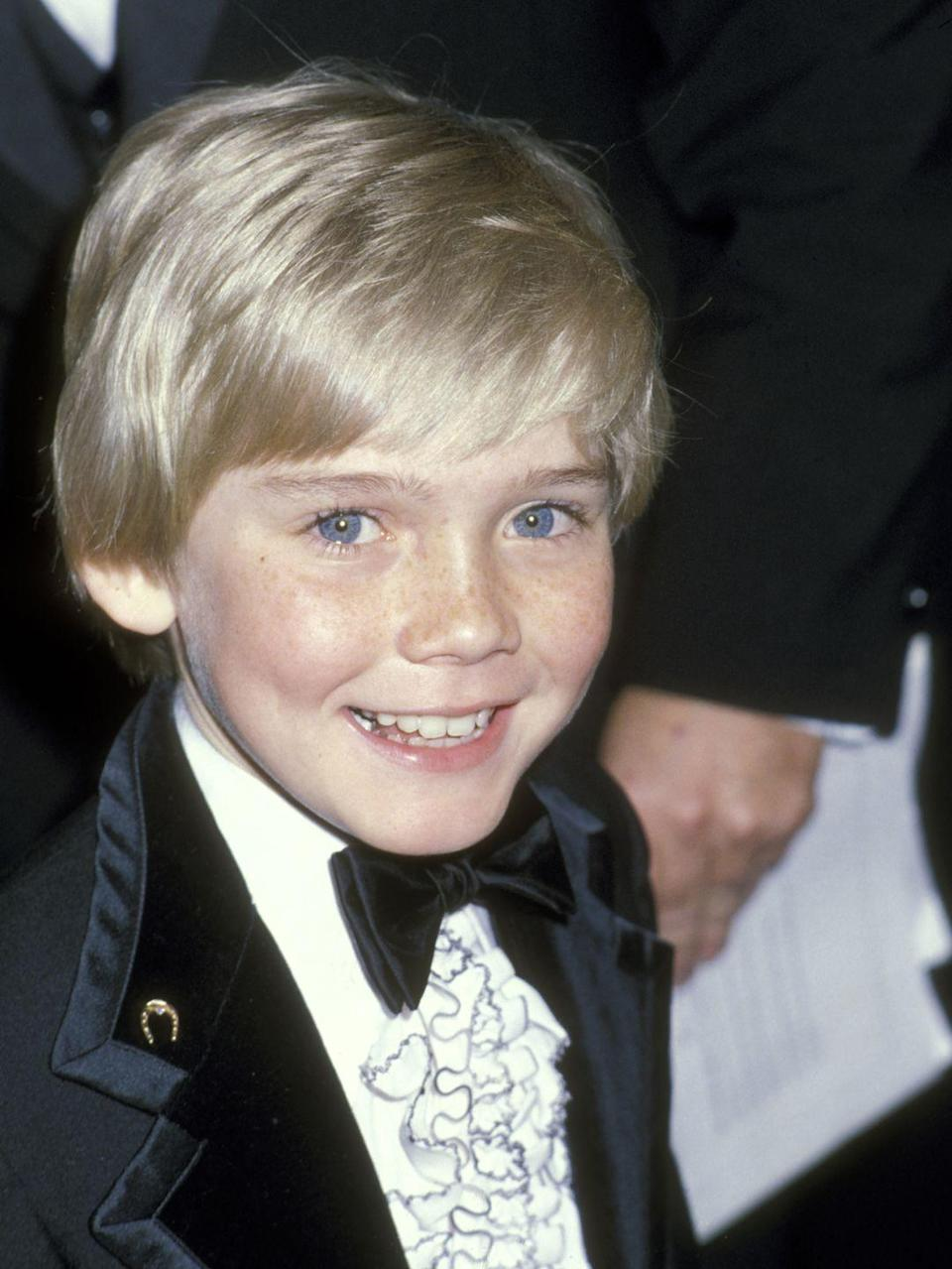 """<p>Ricky made his screen debut at age 9 in the movie <em>The Champ, </em>for which he received a <a href=""""https://www.goodhousekeeping.com/life/entertainment/news/g5027/cutest-couples-golden-globes-2018/"""" rel=""""nofollow noopener"""" target=""""_blank"""" data-ylk=""""slk:Golden Globe award"""" class=""""link rapid-noclick-resp"""">Golden Globe award</a>. He had a few other movie roles before going on to star in the sitcom <em><a href=""""https://www.amazon.com/Pilot/dp/B0013HDCKO/?tag=syn-yahoo-20&ascsubtag=%5Bartid%7C10050.g.24736857%5Bsrc%7Cyahoo-us"""" rel=""""nofollow noopener"""" target=""""_blank"""" data-ylk=""""slk:Silver Spoons"""" class=""""link rapid-noclick-resp"""">Silver Spoons</a></em>, playing a rich kid with the usual problems (you know, like a millionaire father). He's since had many recurring TV show roles, including on <em>NYPD Blue</em>.</p>"""