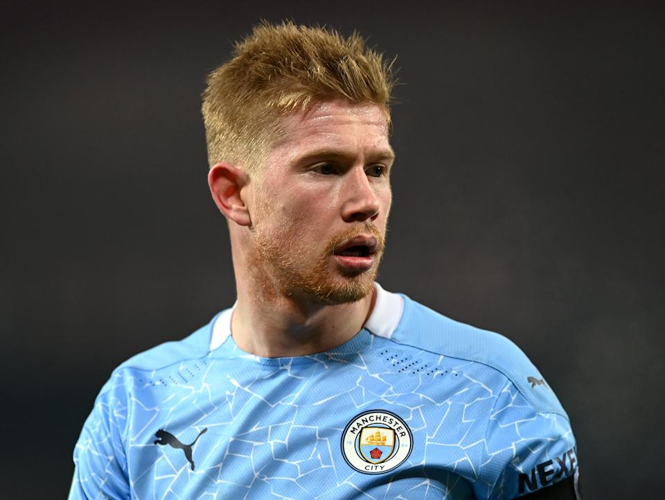 Manchester City midfielder Kevin De Bruyne (Getty Images)