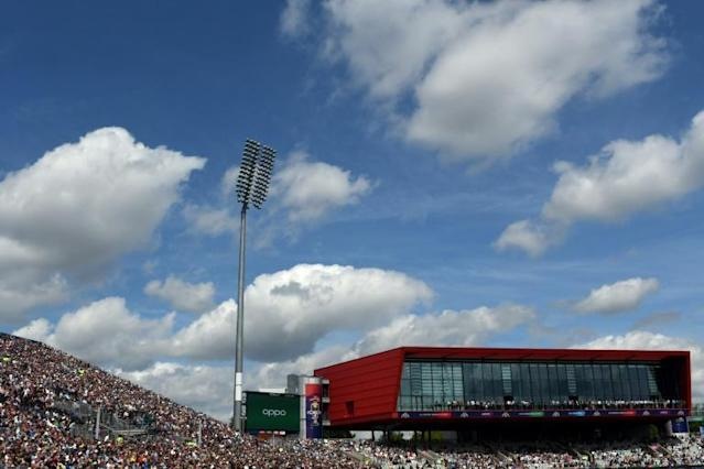 Old Trafford was scheduled to be one of the venues for Pakistan's Test series in England (AFP Photo/Dibyangshu Sarkar)