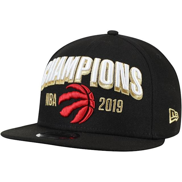 Raptors 2019 NBA Finals Champions Locker Room Hat