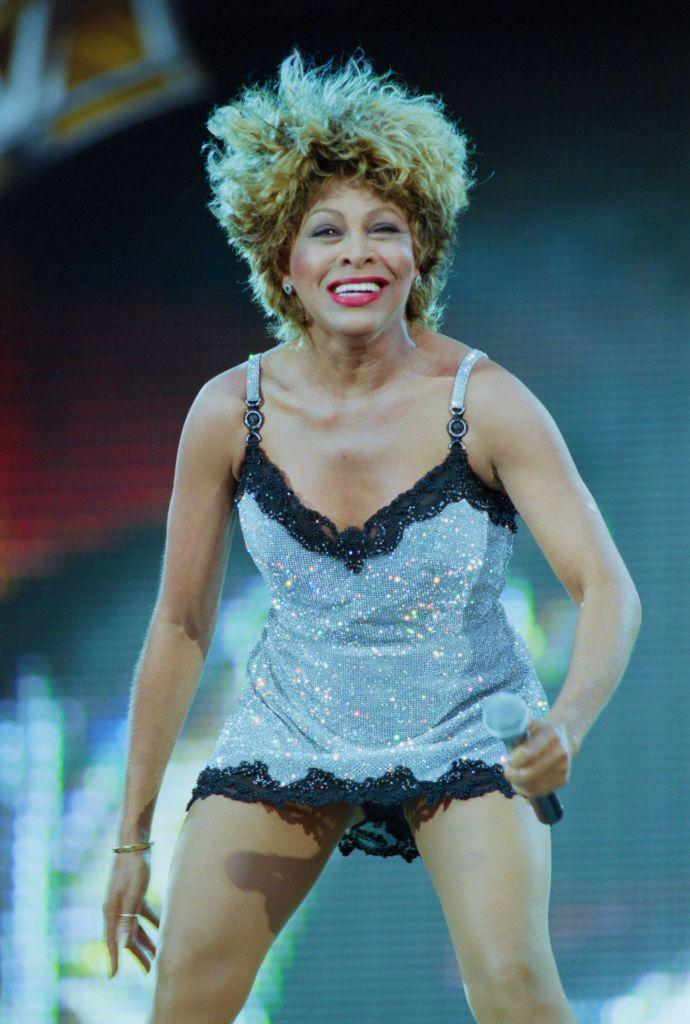 <p>Another energetic stage performance. Can you believe she was 57 when this was taken? She looks awesome. </p>