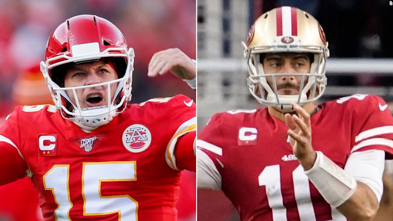 Image result for jimmy garoppolo patrick mahomes