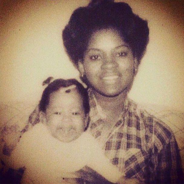PHOTO: Phoebe Robinson and her mother pose in an undated childhood photo. (Courtesy Phoebe Robinson)