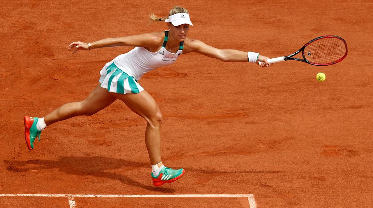 """<p>For the second year in a row, Angelique Kerber has exited the French Open in the first round.</p><p>The World No. 1 fell to Russian Ekaterina Makarova in her opening match on Sunday, losing 6-2, 6-2 in 82 minutes. After winning two major titles at the Australian Open and U.S. Open in 2016, Kerber has not won a title yet in 2017 and struggled in her lead-up matches on clay in Stuttgart, Madrid and Rome. With the loss on Sunday, Kerber becomes the first top women's seed in the Open Era to lose in the first round at Roland Garros.</p><p>When the draw came out on Friday, many marked this match-up as a potential upset. Even Kerber—who had an 0-7 record against top-20 opponents coming into the tournament so far this year—discounted her abilities on clay before the match.</p><p>""""Everybody knows it's not my favorite surface, but, yeah, we have to play on clay. I try my best. Last year as well, these were not the best weeks for me. I mean, it was my best year, but when I played tournaments on clay, I was not performing so well. This year it's the same,"""" she said on Saturday in Paris. """"It can be better. I try my best to make the best preparations I can to be ready for the first round, and then we will see how far I can go… But first of all, I am just aiming to go step by step and try to get in love a little bit with the clay.""""</p><p>In her 10 French Open appearances, Kerber has only made it to the quarterfinals once in her career. 28-year-old veteran Makarova, a former World No. 8, moves into the second round and awaits the winner of Lesia Tsurenko vs. Kateryna Kozlova.</p>"""