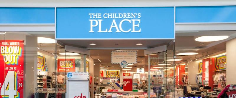 TORONTO, CANADA - JANUARY 19, 2018: Children's Place store front in the Fairview Mall in Toronto.