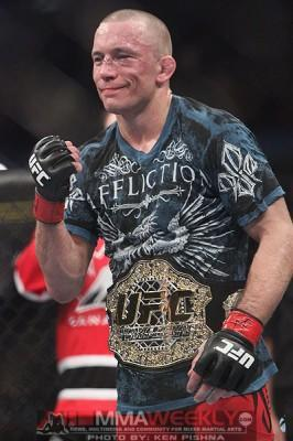 Georges St-Pierre On Track for UFC 154 Return