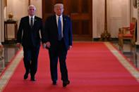 Mike Pence is very much in US President Donald Trump's shadow