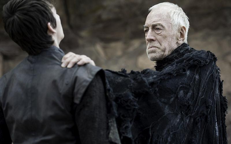 Max Von Sydow as the Three Eyed Raven