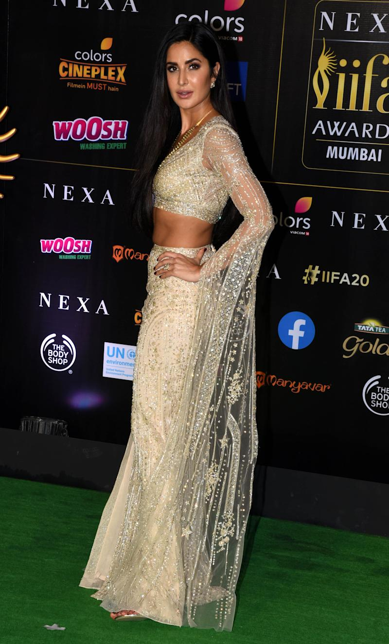 Katrina Kaif at IIFA (Photo: SUJIT JAISWAL via Getty Images)