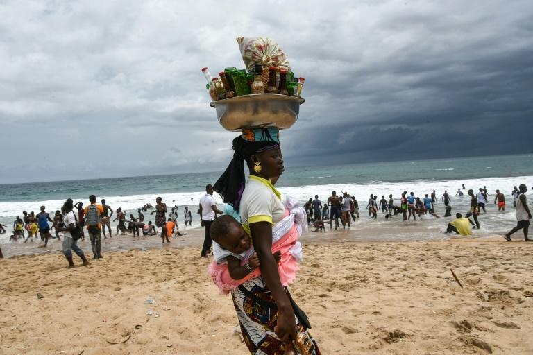 Normally at weekends, the resort's beaches, restaurants and hotels bring in thousands of vacationers from the country's economic hub Abidjan