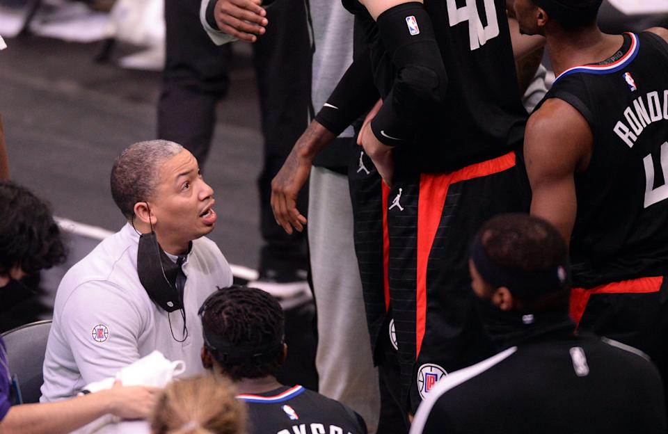 Clippers players have lauded Tyronn Lue's even-keeled demeanor in huddles and in the locker room.