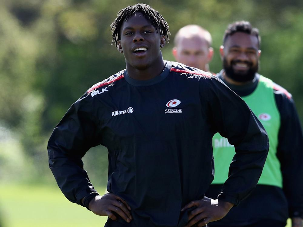 Maro Itoje is reunited with George Kruis in the second-row: Getty