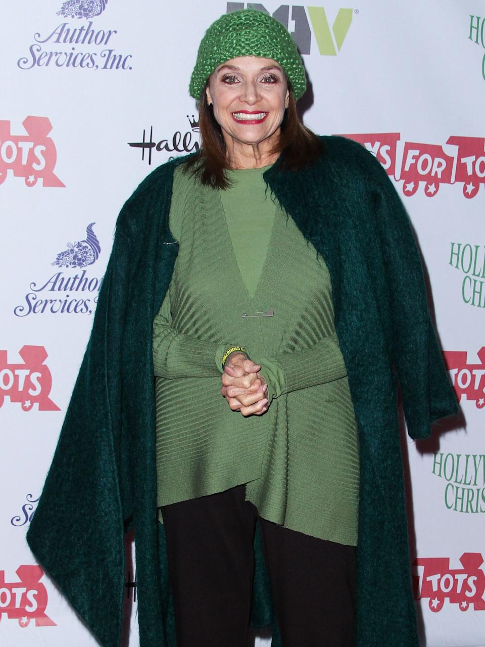 <strong>Valerie Harper (1939-2019)</strong><br />Best known for her role as Rhoda Morgenstern on The Mary Tyler Moore Show and its spinoff Rhoda in the 1970s, Valerie was diagnosed with leptomeningeal carcinomatosis, a rare and incurable form of brain cancer, in January 2013.
