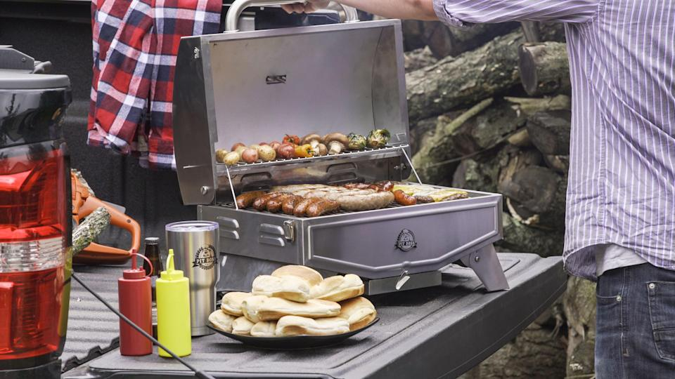 Pit Boss Single-Burner Portable Gas Grill. (Photo: Walmart)
