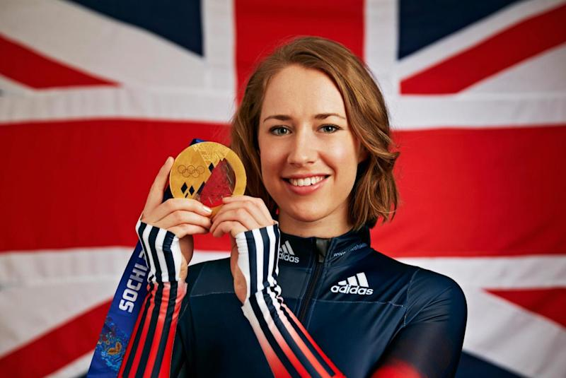 British Olympian Lizzy Yarnold will be defending her gold title she won at Sochi 2014 in Pyeongchang Photo: Getty Images