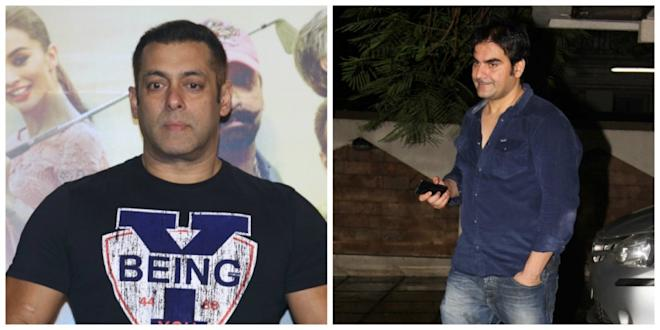 Salman Khan and Arbaaz Khan