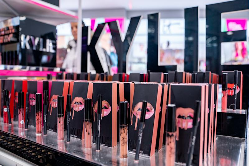 The manufacturer behind Kardashian's and Jenner's products is reportedly suing Coty and Kylie Cosmetics for the alleged sharing of trade secrets