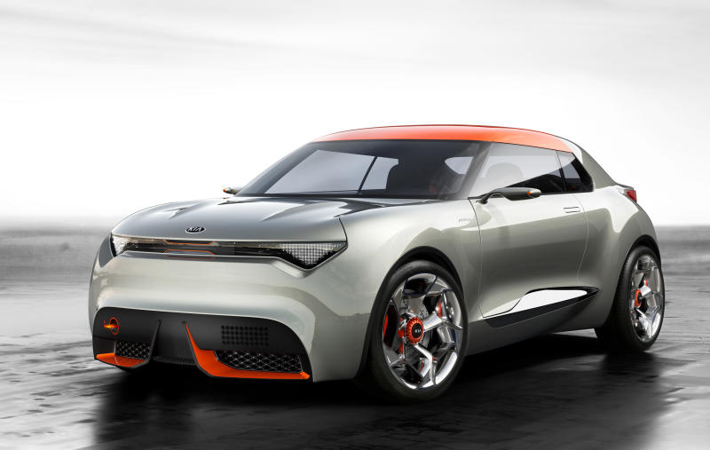 This Undated Image Made Available By Kia Motors Corp Shows Kiau0027s New  Concept Car, Provo