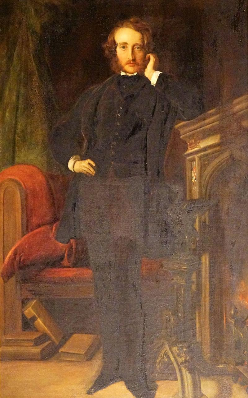 The Victorian writer and statesman Edward Bulwer-Lytton - Credit:  Robert James Ryder