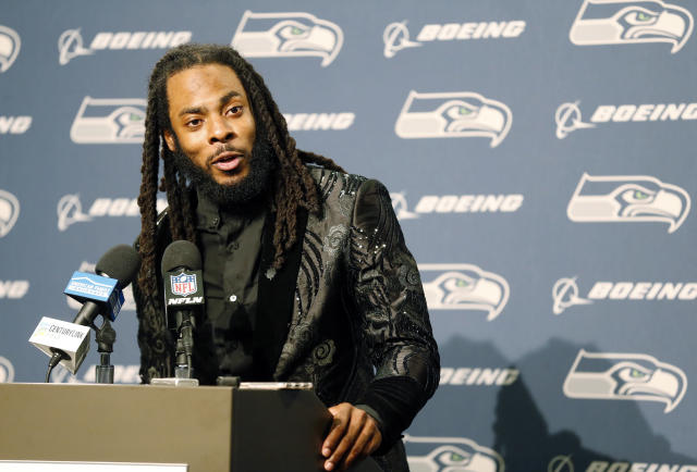 Richard Sherman has some fierce words for his former franchise. (AP file photo)