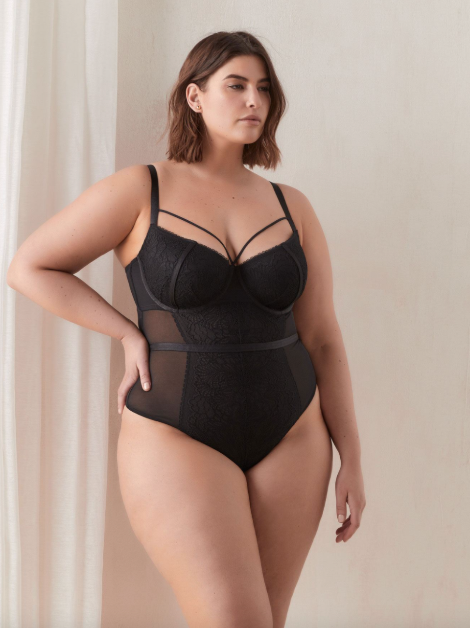 Penningtons Boudoir Mesh Bodysuit (Photo via Penningtons)