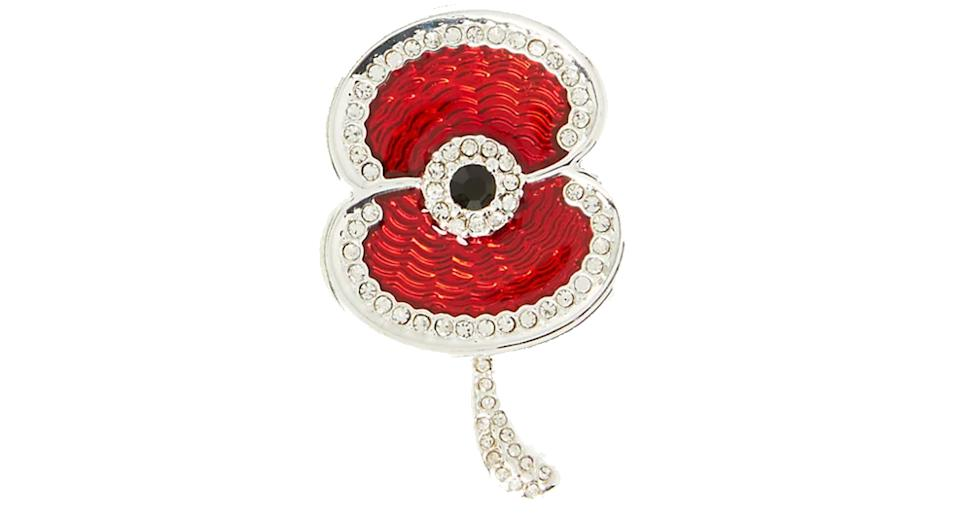 The Poppy Collection® Hero Sparkle Poppy Brooch