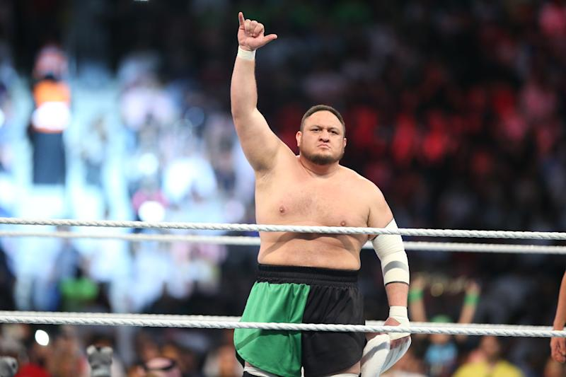 Image result for Samoa Joe""