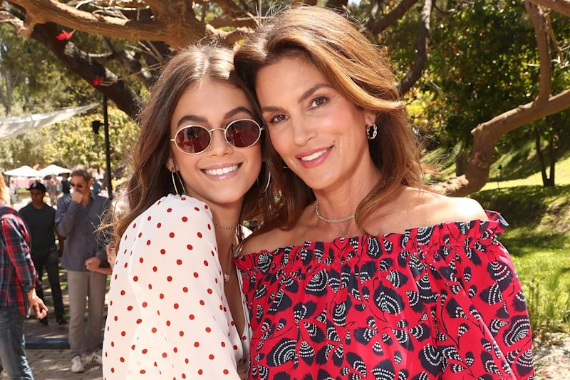 3f5d525cf08ae Kaia Gerber Found Out That Mom Cindy Crawford Built a Golf Course at Their  House via Instagram