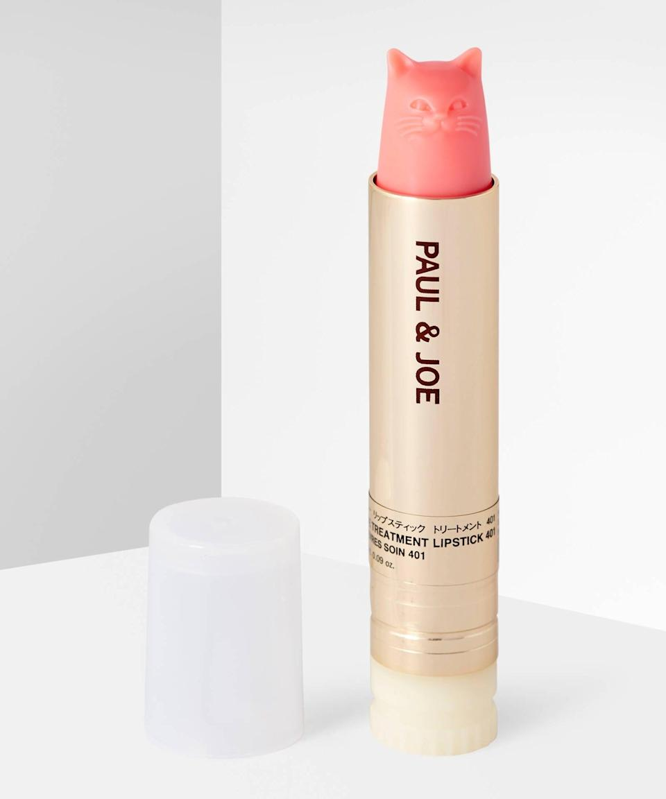 "<h3><a href=""https://www.beautybay.com/p/paul-and-joe/lipstick-spf-25-clear-uv/"" rel=""nofollow noopener"" target=""_blank"" data-ylk=""slk:Paul & Joe Lipstick SPF 25 Clear UV"" class=""link rapid-noclick-resp"">Paul & Joe Lipstick SPF 25 Clear UV</a></h3>Calling all <a href=""https://www.refinery29.com/en-us/2020/01/9336090/taylor-swift-cat-backpack-carrier-amazon"" rel=""nofollow noopener"" target=""_blank"" data-ylk=""slk:cat lovers"" class=""link rapid-noclick-resp"">cat lovers</a>: Paul & Joe's makeup line creates some of the coolest refillable lip products around that also happen to be shaped like a feline friend. Plus, the vintage-inspired cases feel like the coolest beauty heirloom.<br><br><strong>Paul & Joe</strong> Lipstick SPF 25 Clear UV, $, available at <a href=""https://go.skimresources.com/?id=30283X879131&url=https%3A%2F%2Fwww.beautybay.com%2Fp%2Fpaul-and-joe%2Flipstick-spf-25-clear-uv%2F"" rel=""nofollow noopener"" target=""_blank"" data-ylk=""slk:Beauty Bay"" class=""link rapid-noclick-resp"">Beauty Bay</a><br><br><strong>Paul & Joe</strong> Lipstick Case CS, $, available at <a href=""https://go.skimresources.com/?id=30283X879131&url=https%3A%2F%2Fwww.beautybay.com%2Fp%2Fpaul-and-joe%2Flipstick-case-cs%2F055-gipsy-faces%2F"" rel=""nofollow noopener"" target=""_blank"" data-ylk=""slk:Beauty Bay"" class=""link rapid-noclick-resp"">Beauty Bay</a>"