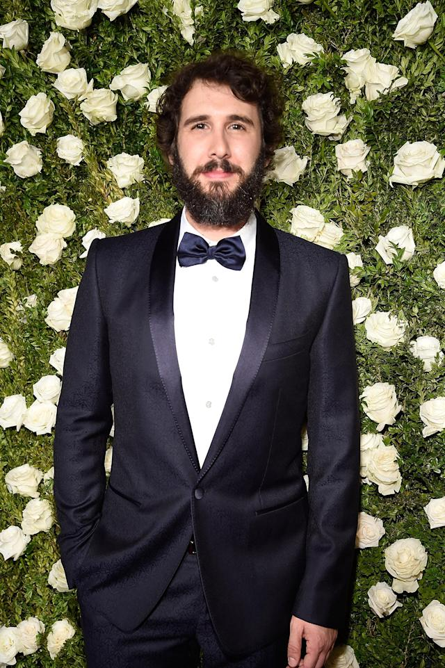 Josh Groban at the 2017 Tony Awards at Radio City Music Hall on June 11, 2017 in New York City. (Photo: Getty Images)