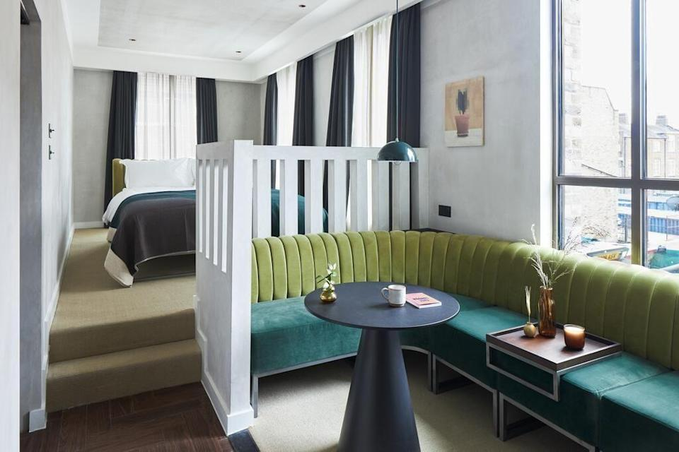 """<p><strong>Expected opening date:</strong> Spring 2021</p><p>If you like your hotels to feel especially homely, then you'll want to check into the new <a href=""""https://go.redirectingat.com?id=127X1599956&url=https%3A%2F%2Fwww.booking.com%2Fhotel%2Fgb%2Fkingsland-locke.en-gb.html%3Faid%3D2070929%26label%3Dnew-hotels-uk&sref=https%3A%2F%2Fwww.redonline.co.uk%2Ftravel%2Finspiration%2Fg35117270%2Fnew-hotels-opening-uk%2F"""" rel=""""nofollow noopener"""" target=""""_blank"""" data-ylk=""""slk:Kingsland Locke"""" class=""""link rapid-noclick-resp"""">Kingsland Locke</a>, in the heart of Dalston. Housing 124 modern-chic studio apartments, as well as a complimentary co-working space, on-site micro-brewery and gin distillery, this is the all-round apart-hotel we've been searching for. There's also an all-day restaurant, workout studio and coffee shop. </p><p><a class=""""link rapid-noclick-resp"""" href=""""https://go.redirectingat.com?id=127X1599956&url=https%3A%2F%2Fwww.booking.com%2Fhotel%2Fgb%2Fkingsland-locke.en-gb.html%3Faid%3D2070929%26label%3Dnew-hotels-uk&sref=https%3A%2F%2Fwww.redonline.co.uk%2Ftravel%2Finspiration%2Fg35117270%2Fnew-hotels-opening-uk%2F"""" rel=""""nofollow noopener"""" target=""""_blank"""" data-ylk=""""slk:CHECK AVAILABILITY"""">CHECK AVAILABILITY</a><br></p>"""