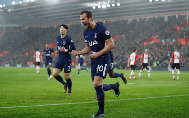 "Tottenham Hotspur were laid low by a flu virus and then caught a cold as they were held to a draw by relegation-threatened Southampton despite Harry Kane moving to within one goal of his Premier League century. It was a frustrating result that means Spurs could fall five points behind fourth-placed Liverpool if Jurgen Klopp's side win away to Swansea City on Monday evening, putting them in very real danger of missing out on Champions League qualification. The score-line does not, truly, help Southampton either as they remain in the bottom three and a point behind 17th place Stoke City. But they showed enough fight – and went agonisingly close to winning – to probably help manager Mauricio Pellegrino survive. At least a little longer. Afterwards Spurs midfielder Eric Dier claimed the race for the top four will ""go down to the wire"" but with his side's next three league opponents being Liverpool, Manchester United and Arsenal these were points they could not afford to drop. And neither were they expected to. The Spurs squad were in Barcelona for warm weather training last week with captain Hugo Lloris and play-maker Christian Eriksen ruled out of this fixture because they were suffering from flu. Other players were affected and although manager Mauricio Pochettino later refused to say who, and stated it had not affected the performance, they were collectively below-par in a rain-sodden ""battle"" of an encounter. Southampton 1 - 0 Spurs (Davinson Sánchez, 15 min) Kane, though, had the chance late on to claim his 100th league goal, and the headlines once again, but dragged his low shot across goal and wide from a tight angle. A defeat would have been extremely tough on Southampton who had chances of their own and moments before Kane's effort there was an even clearer opportunity for 17-year-old substitute Michael Obafemi, who had come on to make his debut, but who miscued badly in front of goal after meeting a Dusan Tadic cross. That again highlighted Southampton's weakness up front and Pellegrino is desperately hoping that reinforcements will soon arrive, using the money brought in by the £75million sale of Virgil Van Dijk, and moves are being made for the £50million pair of Monaco's Guido Carrillo and Spartak Moscow Quincy Promes. But the club's hierarchy will also know that they have lost nine points now from leading positions at home - and that is more than any other other Premier League team. Damningly it is 11 league games without a win. Kane's equaliser was his 99th Premier League goal Credit: GETTY IMAGES Southampton were gifted the lead here, making a slick start which was capped when captain Ryan Bertrand overlapped down the left to collect Tadic's measured pass and crossed low into the penalty area. The ball had already ricocheted around the Spurs box and this time Davinson Sanchez attempted to take more decisive action by intercepting – only to slide in, toe-poking the ball goal-wards with it rebounding off the near post and squirting over the line to beat the stranded, stand-in goalkeeper, Michel Vorm. It provoked a furious response. Dier drove a low shot against the outside of the post, after the ball broke to him from a corner with Bertrand denying Dele Alli as he attempted to turn, and then from another Ben Davies corner Kane simply brushed aside his marker, Jack Stephens, rose above Manolo Gabbiadini, and thumped a header emphatically into the net. The lead has lasted just 197 seconds. It remained remarkably open. Both teams felt they had to win, for their contrasting reasons, and Spurs almost claimed the lead when Davies drove the ball powerfully across the area and Moussa Sissoko side-footed a volley from inside the six-yard area that just flew wide. Southampton also went close when Stephens met a superb, in-swinging free-kick by James Ward-Prowse – and few English players deliver a more threatening set-piece - but the defender could not keep his header down with the ball skimming narrowly over the bar. Southampton vs Spurs shots on goal More chances came although eventually the stickiness of the pitch, the bone-jarring effort, slowed the game down while Spurs sorely lacked the clever guile of Eriksen to unpick their opponents. Nevertheless Alli and Kane went close and then Sissoko fought for possession, squaring to substitute Erik Lamela who poked a close-range shot that seemed destined to find the net but for Stephens' lunge to deflect it wide. Could Southampton capitalise? The crowd roared them on – there were certainly no signs of dissent towards Pellegrino – and Sanchez did well to block a shot from Sofiane Boufal as he ran onto the area before another replacement, Obafemi, signed from Leyton Orient's academy, had his chance. But they could not find the breakthrough as the ball skimmed off his boot. And neither, despite five minutes of added time, could Spurs who had come into this match having collected 13 points from a possible 15 including a 5-2 demolition of Southampton on Boxing Day. But they were out-of-sorts. 6:21PM Pellegrino post-match ""I think the team responded really well, we cannot transform this performance in goals and goals is more points but obviously this is the attitude we need to show in the next game. Every single game for us is massive. ""We knew even the second half when they play with the diamond, they were always dangerous but I think we had the space in wide areas and in this moment we have had a couple of chances especially on the right. They are an amazing team with top players and they don't need too many action to create problems."" 6:12PM Pochettino says the result was fair ""It was an even game, a difficult game, the pitch wasn't in the best condition which didn't help but for both teams to play in a good way. Tough game, lots of battles, fighting. ""I don't believe because we struggle a little bit to play. In possession we missed a link to play together, we made a lot of mistakes in possession and allowed them to play a little bit more. I think to win the game, we should do better and play better and our performance wasn't great. ""I think we tried to receive in our offensive phase and link better Kane and Son with Dele in behind. It allowed us to be more aggressive in transition and use more our fullbacks going forward. I think we create but the result was fair. ""The top four is not easy. We still have the possibility to fight. The fight to survive every ball you can feel they are aggressive, our performance wasn't great, if it was at the level we are normally used to do, our performance wasn't the best. ""That is a rumour, I don't want to speak about rumour. I am happy with the players I've got. You know well it's very difficult this transfer window to add a player"". 6:08PM Man of the Match James Ward-Prowse wins Sky Sports' prize and I'd tend to agree with that. Jan Vertonghen was excellent for Spurs too. Dele Alli just doesn't look himself at the moment, as though he's getting frustrated with himself for his own failings and then rushing his play to make up for it. Second season syndrome, except this is third season syndrome. Without alliteration it's not as dramatic sounding. 5:55PM The stats that matter The most important is the score, obviously, but Spurs will look at this and think they should have done much better. Southampton vs Spurs shots on goal 5:53PM FULL TIME A fair result in a really scrappy game. 5:52PM 90 mins +4 End to end now. Southampton attack, run out of ideas, Spurs attack and run out of ideas. 5:50PM 90 mins +3 Wanyama tries to be a hero and shoots from 25 yards. It's absolutely dreadful. An X-Factor Christmas number one of a shot. 5:50PM 90 mins +2 Spurs are trying to stay patient as they work the defence. Davies tries a cross from wide left but hits the defending Ward-Prowse. Southampton are in their deep defensive shape, waiting to absorb these attacks and try to break. 5:48PM 90 mins Now Spurs pile on the pressure. Alli goes down in the area off the ball but is up again after an accidental tangle with Stephens. Trippier swings a corner to the back post, it's headed into the six yard box and cleared. Spurs keep the ball, work it quickly in tight areas all the way to Kane on the left! This is it! KANE SHOOTS... wide of the far post on his left foot. So close! 5:46PM 89 mins Southampton keep finding space down the Spurs left! Tadic is in again and he cuts back to Boufal... who should score! But he takes a touch before shooting and is blocked. What a waste! 5:44PM 87 mins Alli seems frustrated. He can't quite reach the ball after his first touch and he knocks Romeu to the floor while trying to get it, Southampton attack. Tadic is played in and controls beautifully on the half turn. He fires a cross into the area and the young lad! THE YOUNG LAD! Has shanked his shot wide. So close to a dream debut for Obafemi. Miss: Southampton 1 - 1 Spurs (Michael Obafemi, 87 min) 5:42PM 84 mins The game is really scrappy. Nobody can make a forward pass without it cannoning back off a body in the way. Spurs attack and manage to get in behind the Southampton defence. Is this it? Kane finds Sissoko, whose pass is blocked, he tries again, and Lamela reacts at the near post... but puts it wide. Miss: Southampton 1 - 1 Spurs (Erik Lamela, 84 min) Dembele is replaced by Wanyama, guaranteeing at least one more yellow card worthy challenge in Spurs' midfield. 5:39PM 82 mins Possession: Southampton vs Spurs Michael Obafemi comes on for Gabbiadini. He's a 17 year old youth academy graduate. He's going to score, isn't he? 5:38PM 81 mins Waaaaaaaaaaaay. Alli is played in behind the Southampton defence and he must be offside. He must be! And he is. Alli shoots anyway but puts the ball wide of the goal from about three yards, prompting cheers of approval from the home fans. 5:37PM 80 mins Lemina comes off for Steven Davis. 5:34PM 77 mins And here it comes! The ironic cheer as Mousa Dembele is booked. Southampton have a free-kick wide left, Ward-Prowse lines up the set piece and could actually bend this in to either corner if he fancied it. He goes for the cross and it's headed away. This game is getting so frustrating to watch now. It's foul after foul after foul as both teams try to stop the other from playing. A very physical match. 5:31PM 75 mins Dier goes on a 50 yard run across the pitch with the ball and finds Alli, who hits a lame cross to the Southampton defence. Spurs look good everywhere except the final third at the moment, they're really missing Christian Eriksen. 5:29PM 73 mins Aurier has sat down and might have an injury problem. Trippier comes on for him. That might give Spurs a burst of energy they need on the right for the final 20 minutes. 5:27PM 71 mins Spurs attack, find Davies on the left and his cross causes Southampton players to panic in attempts to clear. Kane shifts the ball onto his left foot to shoot but wins only a corner, and McCarthy catches that corner. Suddenly the ball drops for Dembele on the edge of the box! He shoots, mis-hits and Alli has it in the box. Can he score? No! He's closed down and spins, tries to find Kane... but the chance is gone. Lamela comes on for Son. 5:24PM 68 mins Gabbiadini tries a shot from outside the Spurs box but puts it too close to Vorm again. Erik Lamela is getting ready to come on for Spurs. 5:22PM 66 mins Alli comes to life about 30 yards out, taking the ball on the half turn, striding forward and then firing a shot across goal from near the D. Just wide. Out: Southampton 1 - 1 Spurs (Dele Alli, 65 min) Hojberg comes off for Boufal. 5:20PM 63 mins The referee has to tell off Dier and Tadic for hustling and bustling in the penalty area from a corner. Davies swings it out from the left and Kane tries a volley on his left foot! He kicks the air and Southampton break... but then they lose the ball. Alli carries it into the final third and then he is tackled. And then Gabbiadini is sent through on goal and is offside! Soccer. 5:17PM 61 mins Possession: Southampton vs Spurs 5:17PM 60 mins Dembele carries the ball and has runners left and right but doesn't quite have the pace to get away from his marker and loses possession. Davies links with Alli to get the ball in the box but the cross is cut out. Romeu is then booked for a sliding challenge on Alli. 5:14PM 57 mins Southampton are starting to open up the pitch with their passing and Spurs want to counter-attack quickly but keep giving the ball away. Sissoko is booked for a foul on Bertrand, arriving late to contest a 50/50. 5:12PM 55 mins I'm looking forward to the huge ironic cheer when Dembele is inevitably booked here. Lemina takes a sore one on the left wing and Sissoko puts the ball out straight away for him. It looks like he'll survive, which is good for everyone involved. Pellegrino talks to Stephens and then Hoedt separately how to adapt to Spurs' new shape. 5:10PM 53 mins Credit: REUTERS Gabbiadini goes down under a challenge from Vertonghen but doesn't complain, Southampton keep up the pressure until Spurs can play their way out from the back. Romeu is fouled by Dembele. It's a clear yellow card... I don't understand why he's not been booked yet. The Scott Brown of the Premier League. 5:06PM 50 mins Stephens is booked for a shirt pull on Kane, which is probably the right call. Ward-Prowse takes an early shot at goal when he might be away... Vorm saves. It's pretty end to end so far. Son is playing more through the middle in this half, quite close to Kane. 5:06PM 48 mins Spurs attack through the middle and straight away Son is nearly sent clean in on goal. The ball is moved back towards the goalkeeper and he isn't steady on his feet, having to get rid of the ball as soon as he can. Vertonghen then has to use pace and strength to make sure Southampton don't get in behind at the other end. Great defending. 5:02PM KICK-OFF 2 Spurs start the second half. 5:01PM Some half time stats Southampton vs Spurs shots on goal Southampton vs Spurs 4:46PM HALF TIME A fair result so far but Spurs still look like the better side here. Southampton have had their chances, Spurs seem capable of upping their level if they want to. 4:45PM 45 mins Kane takes down a cross from the left and has a half chance to shoot inside the area... but a defender's foot catches his and takes the ball. 4:42PM 42 mins Southampton have men over now! They're playing really well here and work a chance for Lemina, who places his shot just slightly too close to the goalkeeper. Attempt Saved: Southampton 1 - 1 Spurs (Mario Lemina, 41 min) Southampton's long passes from right to left look like they're causing Spurs a lot of bother. Aurier and Sanchez happen to be defending that side. 4:23PM 23 mins Tadic floats a chip to the back post when the shot is on and Spurs' giant centre-backs head it away for another corner. Ward-Prowse whips it in but Vorm punches away. 4:21PM 22 mins Possession: Southampton vs Spurs 4:21PM 21 mins Almost immediately after kick-off Alli bursts into the box and it looks like Kane is open for a tap in... but Alli is tackled for another corner. Southampton defend this one much better. Ward-Prowse delivers from the right but Vertonghen reacts best to the danger and puts it behind. The referee has to tell off Sanchez, Hoedt and Vorm as they shove each other. 4:19PM GOOOOOOOOOOAAAAAAAALLLLLLL! Who else but Harry Kane? It's his 99th Premier League goal. Southampton 1 - 1 Spurs (Harry Kane, 18 min) Southampton haven't looked great at set pieces and Kane uses his strength to hold off and then jump higher than Southampton's defence from the corner. 4:18PM 18 mins Dier hits the post! Almost an instant reply from Spurs as a corner is headed down by Vertonghen and then drilled at goal by Dier. Spurs win another corner. 4:16PM GOOOOOAAAAAAALLLLLLL! An own goal from Davinson Sanchez! Southampton 1 - 0 Spurs (Davinson Sánchez, 15 min) Just as I'm typing that he's not quite on his game, he slides in to deal with a cross at the six yard box and ends up deflecting it into his own net. He's really unlucky but Southampton deserve their lead. 4:14PM 15 mins Sanchez isn't quite on his game yet. He's made a couple of mistakes off and on the ball and has just handed possession straight to Southampton here. They're on the attack. 4:13PM 13 mins Credit: AP 4:12PM 12 mins That should be 1-0. Lemina plays Kane onside, the centre-backs don't realise and Alli has the entire box to run into. The ball is crossed in and he can't get enough on his header. Corner. 4:11PM 11 mins Dier tries a long ball into the box for Alli, who very nearly takes it down on his knee with his back to goal. His touch is a little off and Southampton can take the ball forward. Ward-Prowse is played in down the right with a great pass over the top of a defender, and his delivery is brilliant! But nobody reads it. Tadic follows up on the other flank and drills a low ball into the six yard box... but Gabbiadini can't reach it. 4:09PM 9 mins Southampton are attacking but Spurs keep breaking up play before anything too dangerous happens. Ward-Prowse tries a wonderstrike from 25 yards but slices his effort miles wide. Spurs work their way forward, Alli sprints to space at the back post and Aurier swings a cross in, but doesn't get enough lift and it's put behind for a corner. 4:05PM 6 mins Another chance for Southampton. Hojberg wins the ball from Son, hits a long pass out left and Tadic is there. He slides a pass across the area... and Gabbiadini doesn't seem to commit to the shot, and rather than sliding in, swings a boot at thin air. 4:03PM 3 mins Great run by Sissoko as he sprints from deep into the box and Aurier finds him with a smart pass round the corner of the full-back. Southampton win the ball back. 4:01PM 1 mins The Saints get the ball forward quickly, Gabbiadini turns Sanchez and shoots from 20 yards but Vorm saves. Attacking start! 4:00PM KICK-OFF Southampton get the game started! 3:56PM Here come the players They're out on the pitch in the rain. It's cold. It's wet. AND IT'S LIVE! Credit: REUTERS 3:46PM Pochettino on Southampton ""They stay at home in London and try to recover. I think yes, 100 per cent they feel well, maybe some players have some problems the last few days but no excuse we are going to try to play our best, to play well and win because the victory is important. It will be tough for both teams. ""It's always special after five years it was today or yesterday we made our debut here against Everton, it will always be in my heart a special place for me and my family."" 3:38PM Southampton want to buy two players And with £50million to spend on both, you'd think they'll be good. But who are these mysterious men? Jeremy Wilson has all the information here. 3:21PM Ben Davies says Denmark is why he's good at football Want to know more? You should read this and find out. 3:11PM It is not a nice day Credit: GETTY IMAGES The good thing is that since this isn't the 90s, the pitch will still be entirely playable and probably a bit quicker than normal. That will suit Spurs' passing game and might also mean that defenders are granted super power slide tackles and can glide along the floor for miles to win the ball back. 3:06PM No Lloris or Eriksen Both Huge and Christian, as they like to be called, are ill and miss out today. A big chance for the reserves to impress! If you can call them reserves, that is. 3:01PM Hello! Good afternoon and welcome to our liveblog for Southampton vs Spurs, where Mauricio Pochettino pays a visit to the stadium where first he made his name known in the Premier League. The Saints are doing absolutely fine at the moment which makes sense but isn't great news for their current manager, Mauricio Pellegrino, since Southampton seem to believe that even though they keep selling their best players, they should be progressing on the pitch. Spurs are in their traditional mid-season run of good form and Harry Kane is banging in goals all over the place. With Marco Silva suddenly available, it's not insane to suggest that Pellegrino might actually need his team to give an impressive performance - if not get a result - for him to keep his job. The Premier League is getting silly. Enough speculation. Who's actually playing today? Southampton Team news is in! Here's how #SaintsFC line-up to take on #THFC at St Mary's in the #PL: pic.twitter.com/CezUnwCJ6p— Southampton FC (@SouthamptonFC) January 21, 2018 Spurs #THFC: Vorm, Aurier, Sanchez, Vertonghen, Davies, Dier, Dembele, Sissoko, Dele, Son, Kane (C). #COYSpic.twitter.com/FAJwpW5fp4— Tottenham Hotspur (@SpursOfficial) January 21, 2018"