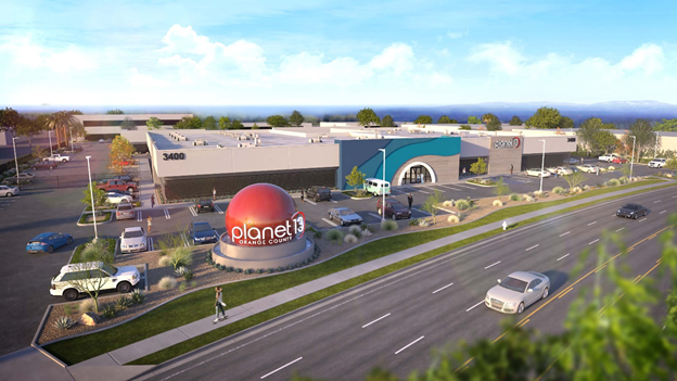 Planet 13 Begins Construction Of Orange County Superstore