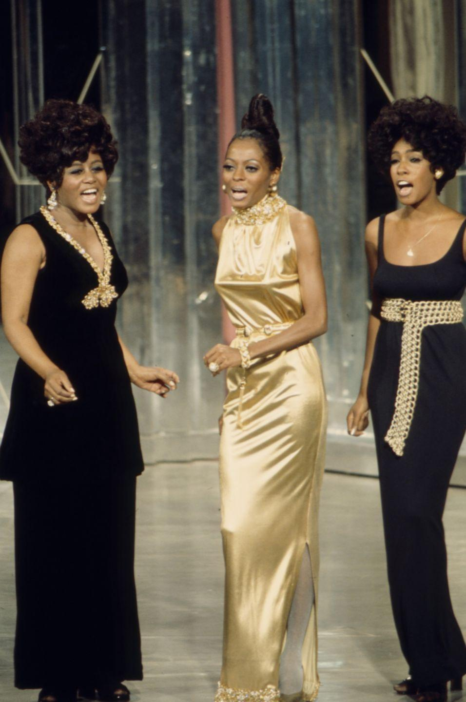 <p>By the late '60s, the group started to stray from their classic matching ensembles and began to show more individualism in their appearances. Ross remained the clear lead singer and started dressing in more distinct outfits for performances. </p>